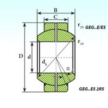 ISB GEG 280 ES plain bearings 280 mm x 430 mm x 210 mm