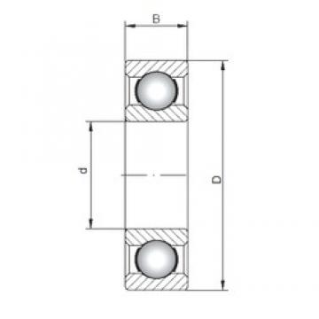 ISO 16026 deep groove ball bearings 130 mm x 200 mm x 22 mm