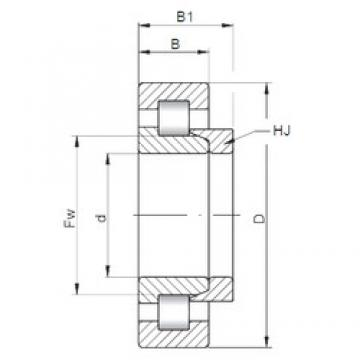 ISO NH2326 cylindrical roller bearings 130 mm x 280 mm x 93 mm