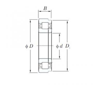 KOYO NUP322 cylindrical roller bearings 110 mm x 240 mm x 50 mm