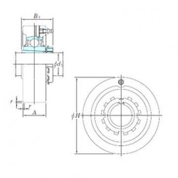 KOYO UKC210 bearing units