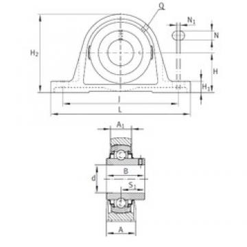 INA RASEY1-1/8 bearing units