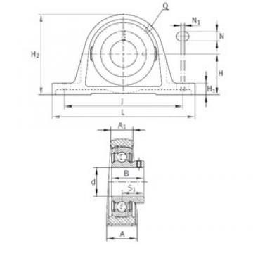 INA PASEY1-1/4 bearing units
