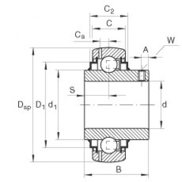 INA GY1100-KRR-B-AS2/V deep groove ball bearings #2 image